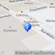 Kartta Painonvartijat Turku, Suomi