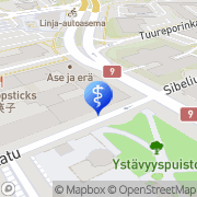 Kartta Askelklinikka Turku Turku, Suomi