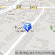Mapa Pracownia RTG Siedlce, Polska