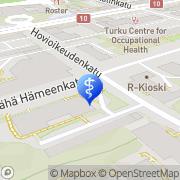 Kartta Rentoutuskeskus Optima Turku, Suomi