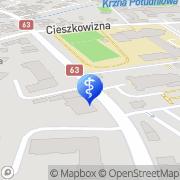 Mapa Gołąbek Jacek, lek. med. Łuków, Polska