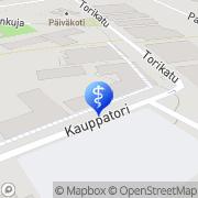 Kartta Hammaslääkäriasema Kankaanpään Kankaanpää, Suomi