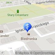 Mapa Gołąb Piotr, lek. med. Przeworsk, Polska