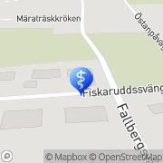 Kartta Fysikaalinen Hoito Kirjorinne Tuula Pietarsaari, Suomi