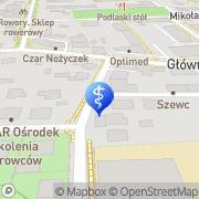 Mapa Sierocka Danuta, lek. med. Łapy, Polska