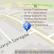 Mapa Dental Lab Białystok, Polska