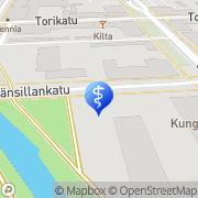 Kartta Hammaslääkäri Grahn Berit Kokkola, Suomi