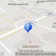 Kartta Jokioisten hammashoitola Jokioinen, Suomi