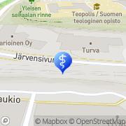 Kartta Koivumäki Anttiveikko Hammaslääkärikeskus Koskident Tampere, Suomi