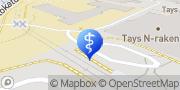 Kartta TAYS Sydänsairaala Tampere, Suomi
