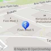 Kartta Ovumia Fertinova Tampere Tampere, Suomi