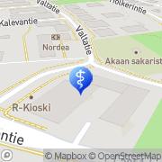 Kartta PlusTerveys Kirkkotori Toijala Toijala, Suomi