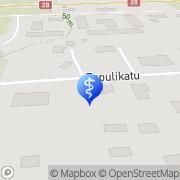 Kartta Hammaslääkäripalvelut Leena Viherkari Oy Kannus, Suomi