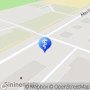 Kartta Raahen kaupunki palvelukeskus Maininki Raahe, Suomi