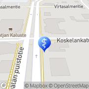 Kartta Forzando Oy Mänttä, Suomi