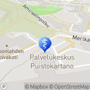 Kartta Espoon kaupunki Espoonlahden hoivakoti Espoo, Suomi