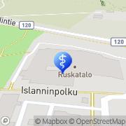Kartta Espoon kaupunki Kalajärven terveysasema Espoo, Suomi