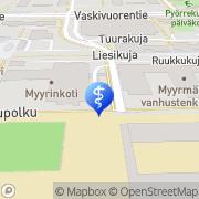 Kartta Vantaan kaupunki Myyrinkodin päiväkeskus Vantaa, Suomi