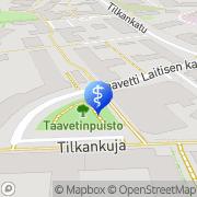 Kartta Oral Hammaslääkärit Oyj Helsinki, Suomi