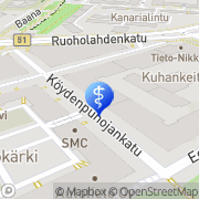 Kartta Hoitola Pisara Helsinki, Suomi