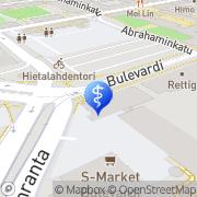 Kartta FysioProVita Oy Helsinki, Suomi