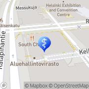 Kartta PlusTerveys Itä-Pasilan Hammaslääkärit Helsinki, Suomi