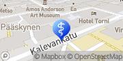 Kartta Lääkärasema Femeda Helsinki, Suomi