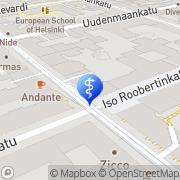 Kartta Psoriasiskeskus Helsinki, Suomi