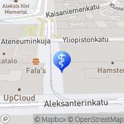 Map VITA Lääkäriasema Helsinki, Finland