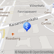 Kartta PlusTerveys Kokonaishammashoidon Klinikka Helsinki, Suomi