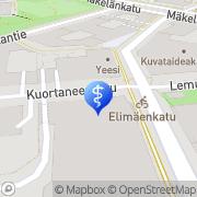 Map GE Healthcare Finland Helsinki, Finland