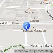 Kartta Omalääkäri M J Oy Helsinki, Suomi