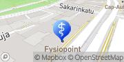 Kartta Fysiopoint Tiina Vorotinski Helsinki, Suomi