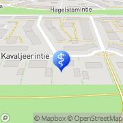 Kartta Autismisäätiö Tammisto 2 Vantaa, Suomi