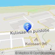 Kartta Chiroptera - Kulosaari Helsinki, Suomi