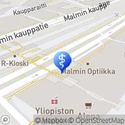 Kartta Paatsama Juha Ala-Malmin Torin Hammaslääkärit Oy Helsinki, Suomi