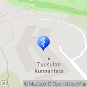 Kartta Tuusulan kunta Palvelukeskus Tuuskoto Tuusula, Suomi