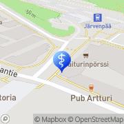 Kartta Hoivakoti Janne Järvenpää, Suomi