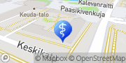 Kartta Hammaslääkäriasema Omppu Oy Kerava, Suomi
