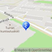 Kartta Oulun kaupunki - Tuiran Kuntoutuskoti Oulu, Suomi
