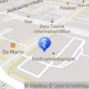 Kartta Instrumentarium Oulu Stockmann Oulu, Suomi