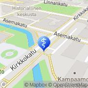 Kartta Kauneushoitola Beauty Spot Oulu, Suomi