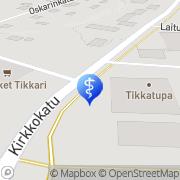 Kartta Kuntotikka Fysikaalinen Hoitolaitos Tikkakoski, Suomi