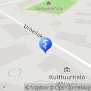 Kartta Puheterapeutti Pauliina Lakkapää Rovaniemi, Suomi