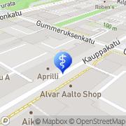 Kartta Hammaslääkärikeskus Hammasvirta Jyväskylä, Suomi