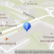 Kartta Ruustinna palvelutalo Viitasaari, Suomi