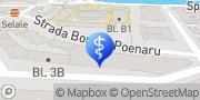 Map Cleo Medical Bucuresti, Romania