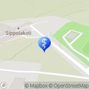 Kartta Kouvolan kaupunki Sippolakoti Kouvola, Suomi
