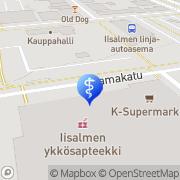 Kartta Instrumentarium Iisalmi Iisalmi, Suomi