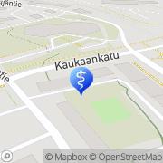 Kartta PlusTerveys Kaukaan Hammaslääkärit Lappeenranta, Suomi